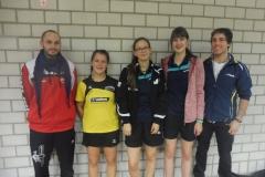 November 2017: Quali für die Baden-Württembergischen Jugend-Einzelmeisterschaften. Teilnehmer und Coaches des Bezirks Oberer Neckar