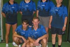 02/03 Herren II. hinten von links: Heldt, Zeiselmeier, P. Müller, Gerstner; vorne von links: Sokolowski, Wrobel