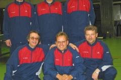 03/04 Herren I. Hinten v.l.n.r.: Becker, Lehnert, Lehmann; vorne v.l.n.r.: Bacher, Angster, Wehrmann