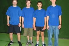 02/03 Jungen U18 II. von links: S. Reichelt, Mezoe, Bach, Zielke