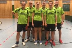 VR 18/19 Herren II. von links: Angster, Friede, Kalmbach, Traub, Link, Schumpp