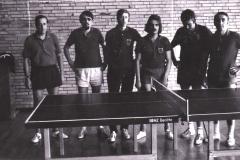 Herren 1 1971/72. Von links: Deifel, Titorenko, P. Müller, Friedrich, Blickle, Kreißl