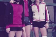 Herren 1 Pokal 1982/83. Von links: Klugmann, P. Müller, Bacher