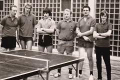 Herren 2 RR 1971/72. Von links: Alfons Wehrmann, Hübner, Mutscheller, Schöffel, Mosbacher, Stösser