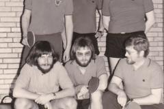Herren 2 RR 1974/75. Hinten von links: Emminger, Reger, Krieg; vorne von links: Mutscheller, Spreter, Ohrndorf