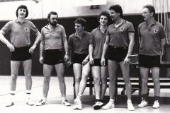 Herren 2 VR 1983/84. Von links: Mahler, Spreter, Koch, Andreas Wehrmann, Heldt, Alfons Wehrmann