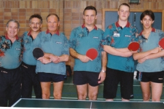 Herren 3 1997/98. von links: E. Müller, P. Gerstner, A. Franz, I. Kaldonek, P. Aigeldinger, A. Sokolowski