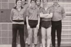 Herren 3 VR 1978/79. Von links: Kaschuba, Mahler, K. Müller, Bubser, Bohnert, G. Zeiselmeier