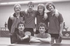 Herren 3 VR 1981/82. hinten von links: Bohnert, Klemm, Wrobel, Ober; vorne von links: Klug, Koch