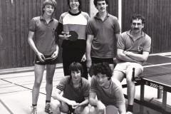 Herren 3 VR 1983/84. Hinten von links: Kremer, Schmidt, Rottler, Gerstner; vorne von links: Frey, Hense