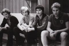 Jungen 1 1979:/80. Von links: Wehrmann, Wrobel, Daiber, Rieble