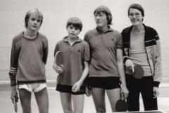 Jungen 2 VR 1982/83. Von links: Rettich, Rieble, Kuse, Schmidt