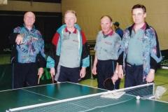 Senioren 2 1996/97. von links: W. Deifel, Alf. Wehrmann, A. Franz, I. Kaldonek