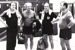 Senioren 2 VR 1983/84. Von links: Zeiselmeier, Heffner, Franz, Grimm