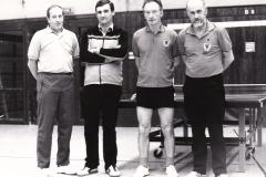 Senioren 1 VR 1983/84. Von links: Deifel, Kaldonek, Wehrmann, Effinger