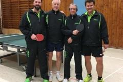 RR 17/18 Senioren I. von links: Lehmann, P. Müller, Bacher, Lehnert
