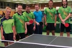 VR 16/17 Herren IV. von links: von links: Lacknett, Horneff, Ivanov, Schäfer, Haller, M. Döttling