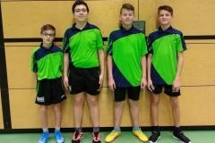 RR 19/20 Jungen U18 IV. von links: M. Greber, L. Dula, L. Ernst, K. Raimann